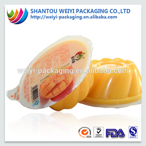 Customized plastic cup sealing film for bubble tea, jelly cup sealing roll film