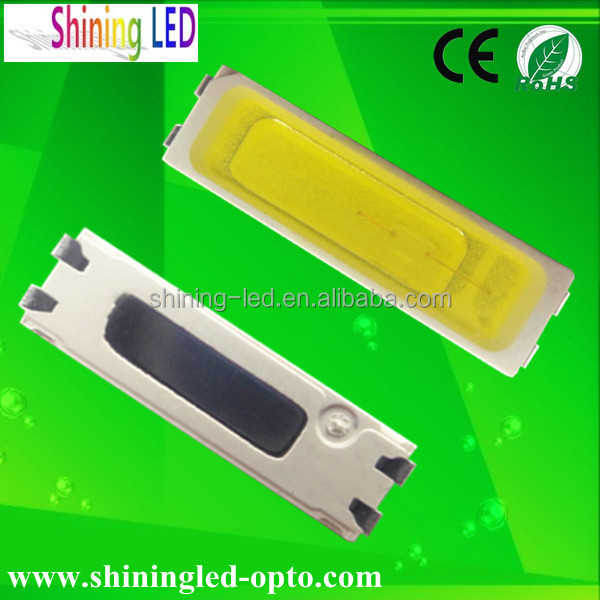 High Quality 3.0-3.4V 45-65lm SMD 7020 LED Specs 0.5W