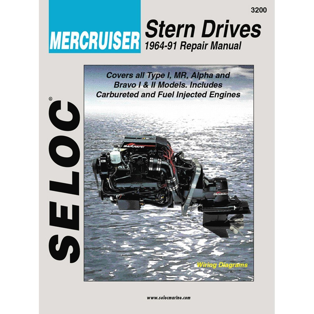 Get Quotations · Seloc Service Manual - Mercruiser Stern Drive - 1964-91
