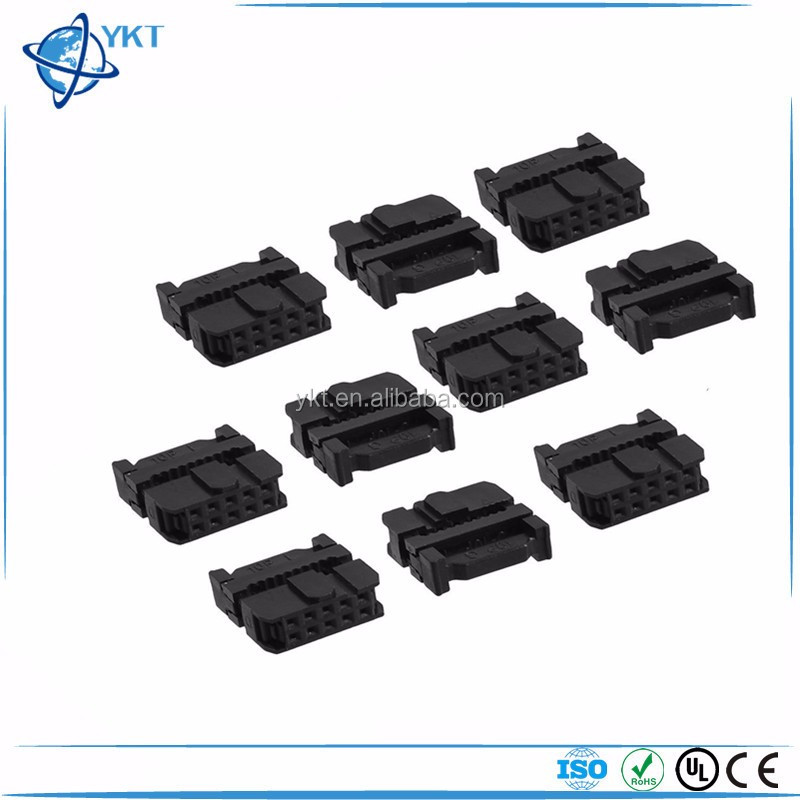 10 Position Female Idc Socket Flat Ribbon Cable Connectors