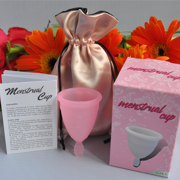 100%medical silicone femalecup menstrual cup silicon cup for wholesale