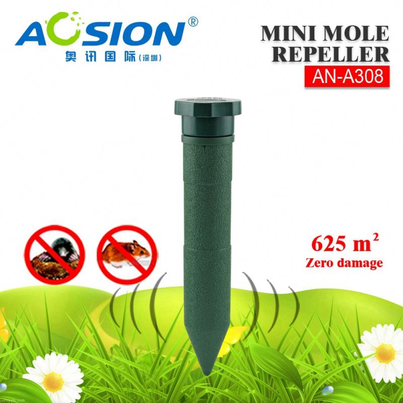 Aosion 625spm effective sample welcome mole chasers for garden yard lawn farm