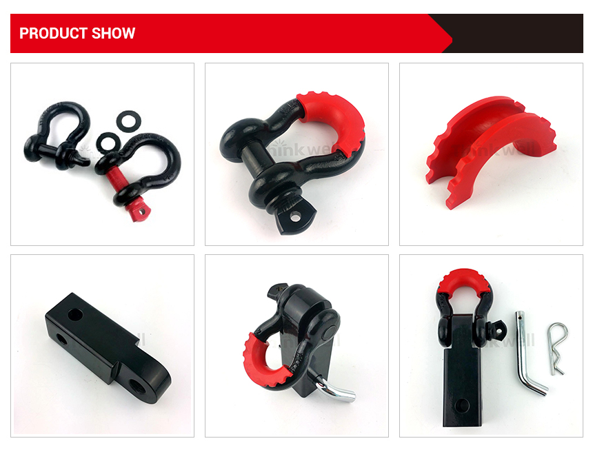 4x4 Auto Accessories Shackle Receiver Hitch