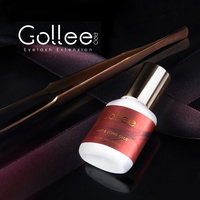 Gollee Latex Free No Odor Black Eyelash Extension Professional Perm Glue