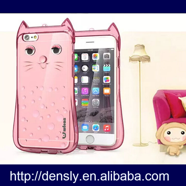 New Cartoon Case Cute Cat For Iphone 6s,Tpu Case For Iphone 6s ...