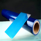 Clear blue anti scratch protective film for aluminum sheet panel