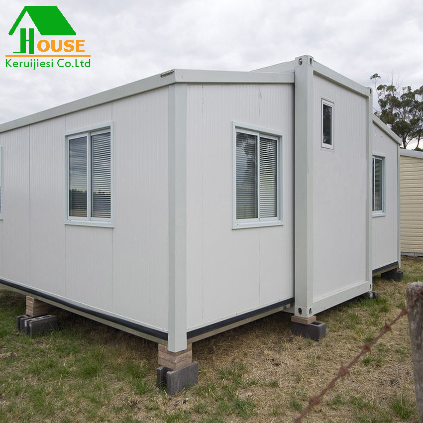 movable prefab container home foldable house