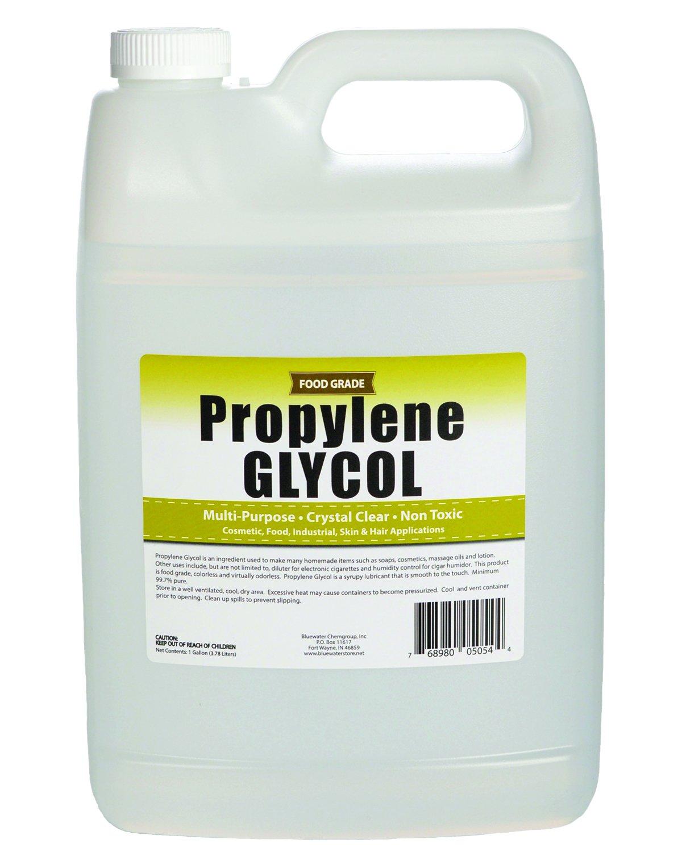 Propylene Glycol - 1 Gallon - USP Certified Food Grade - Highest Purity, Humectant, Fog Machine, Humidor & Antifreeze Solution, DIY, Kosher