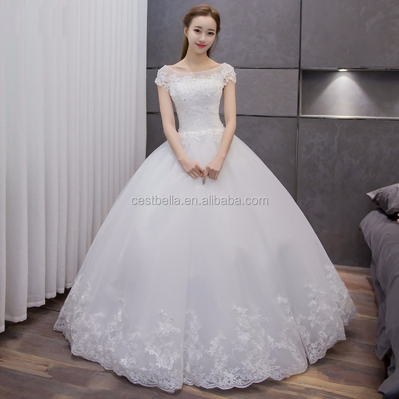 Ball Gown Wedding Dress With Layers Tulle Skirt Heavy Beaded ...