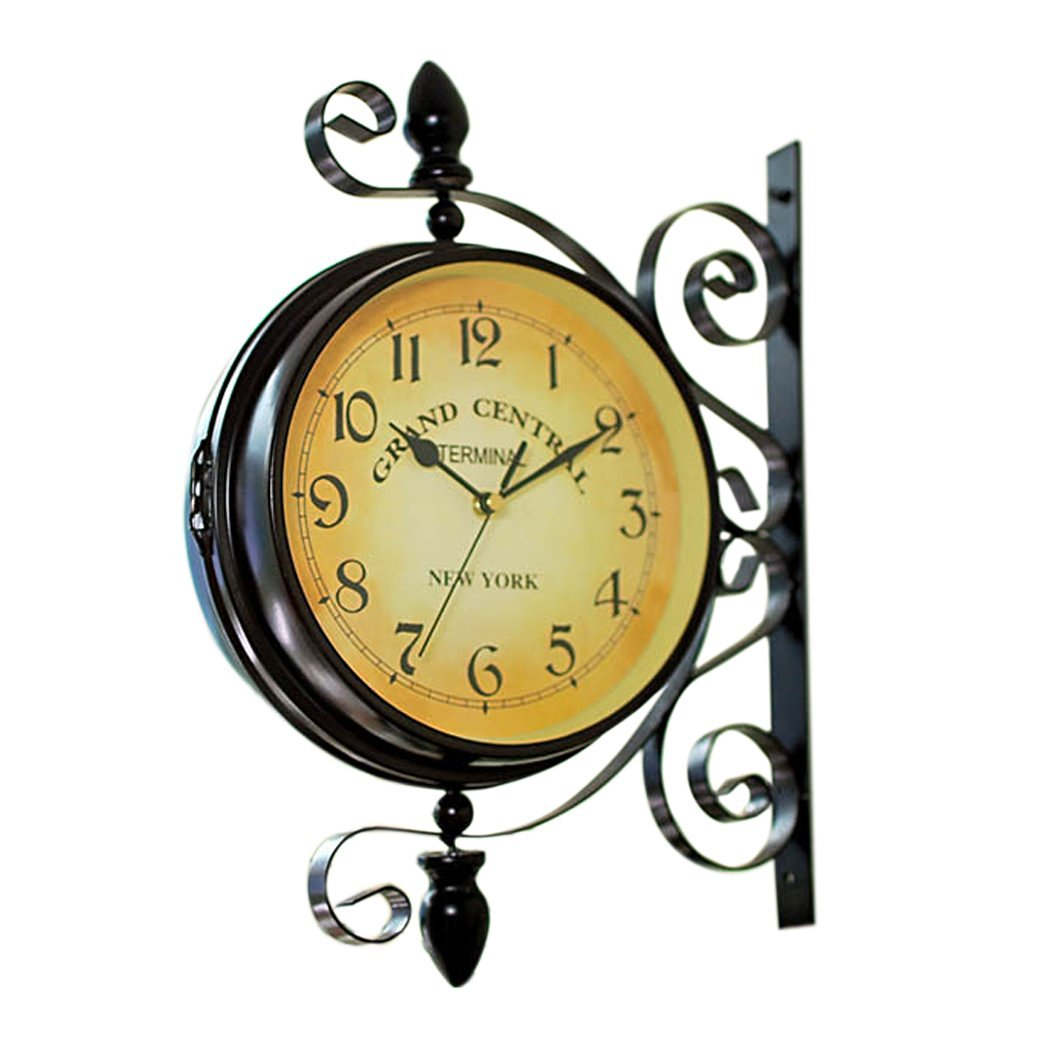 Cheap Double Sided Hanging Wall Clock, find Double Sided Hanging ...