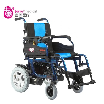 JRWD602 Light Aluminium electric wheelchair foldable