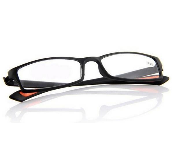 2015 супер-мягкие ультра-легкие пластик 100 - 400 градусов очки для чтения