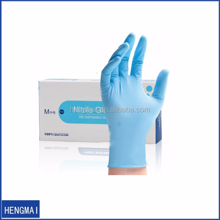 Wholesale Cheap Colored Disposable Bulk ESD Nitrile Tattoo Gloves