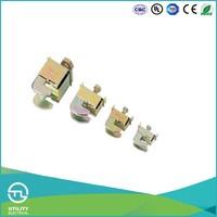 UTL Wenzhou BBT Series Steel Busbar Thickness 9~10sq.mm BBT03-50 6~8N*m Wire Range 16~50sq.mm Terminal Blocks