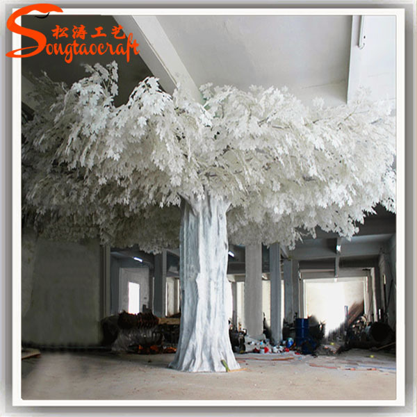 large artificial decorative tree of artificial wedding wishing white ...