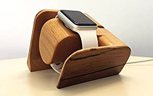 Apple Watch Dock, Tokka [Charging Dock] Apple Watch Charging DockNEW [Apple Watch Dock] Solid Reclaimed Wood and Recycled Aluminum [Charging Cable & Watch Case & Watch NOT INCLUDED] Beautiful, LUXURY design.