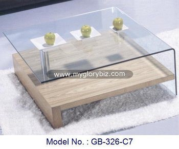 Living Room Bend Glass Chrome Coffee Table,Living Room Coffee Center Table  Furniture,Bend Glass Home Furniture   Buy Living Room Furniture Centre ...