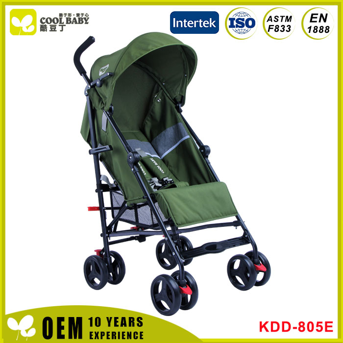 Classic baby jogging trolley with four wheels made in China Baby Stroller