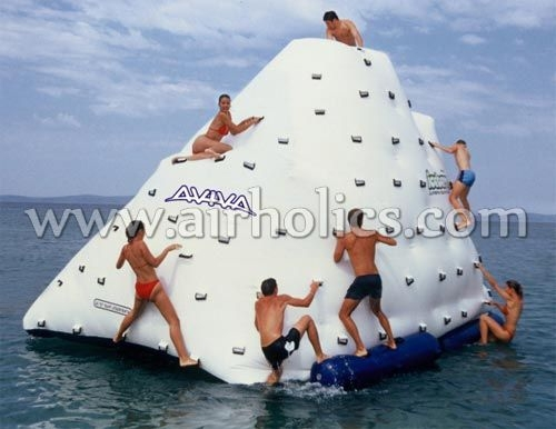 inflatable water park toy inflatable iceberg water toy W3025