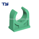 Chinese good Plastic Manufacturers Polypropylene PPR Pipe Fittings green hanging clip strap clamp