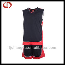 100% polyester jersey shirts design for basketball in china