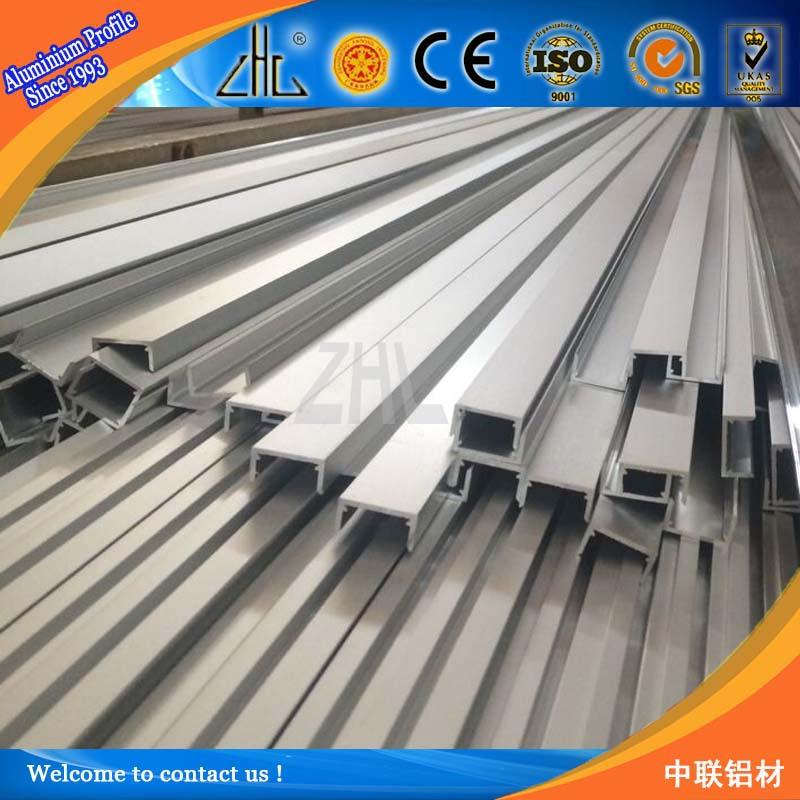 Aluminium Fabrication Extrusion Profile U Channel Pipe And Tube ...