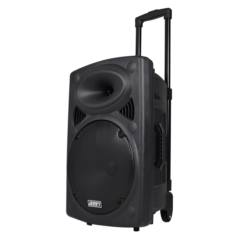 Cheap Portable Rechargeable Trolley Speaker With USB/SD/FM/BT