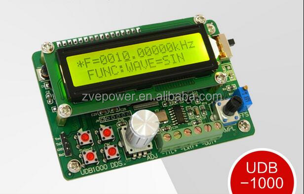UDB1000 DDS signal source signal generator including 60MHz frequency counter sweep module