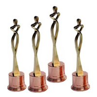 Manufacturer Professional Custom 3D metal oscar trophy award