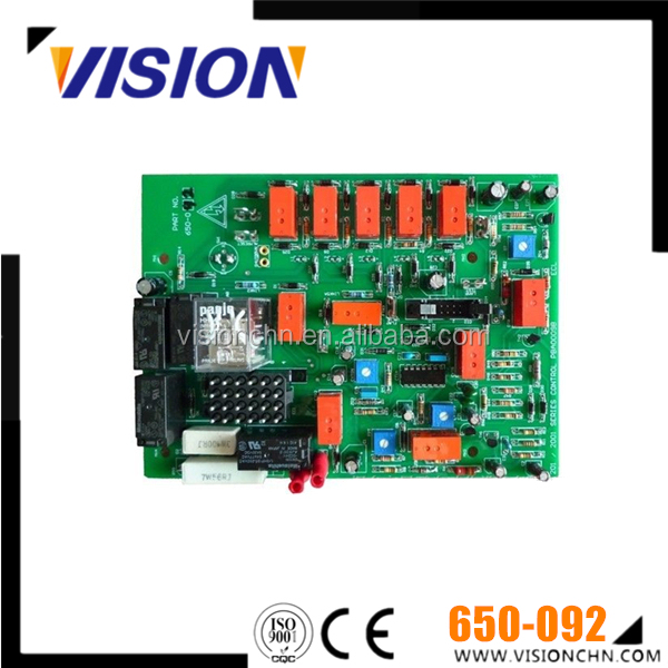 Diesel Generator spare parts PCB 650-092 Printed Circuit Board 24V