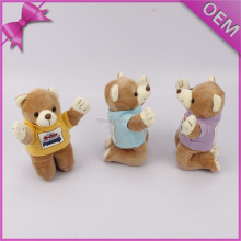 Different modeling mother day gift mini plush bear toys ideas