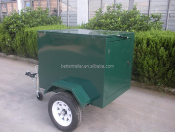 Small Cargo Trailers >> Top Open And Rear Open Small Cargo Trailer Waterproof Encolsed Baggage Trailers View Luggage Trailer Better Trailer Product Details From Jinhua
