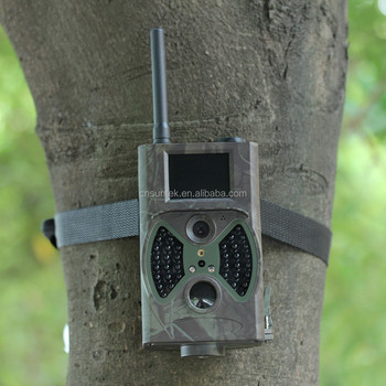 12 16MP PIR Motion Detection Black 940nm Leds Mms Gsm Hunting Camera