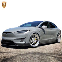 Wholesale Auto Modification Car Parts Full Body Kit For Tesla Model X Electromobile To RZ Design Carbon Fiber Body Kits