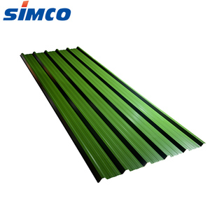 18 gauge pre painted corrugated colored arched steel roof sheets metal price per sheet