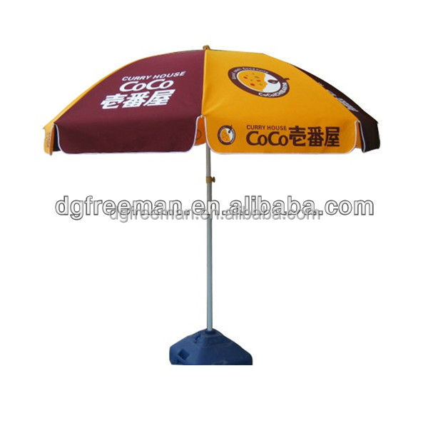 2016 advertising beach umbrella, promotion beach sun parasol,advertising promotional parasol