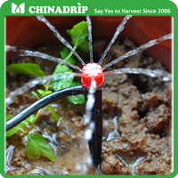 Drip System New Other Watering 15cm length on Stake Adjustable Water Flow Irrigation Drippers Emitter