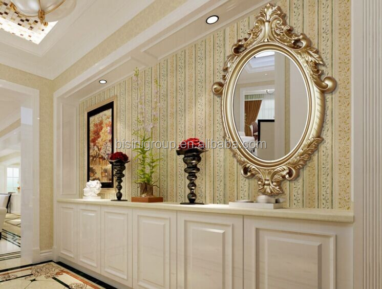 Nuovo arrivo francese barocco dorato ovale con cornice specchio per console e bagno vanity bf11 - Specchio in francese ...