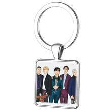 TAFREE, модный брелок Kpop Day6, серебристые ключи цепочки Ключи Кольца автомобильные ключи для любителей Keepsake ювелирные изделия Day34(China)