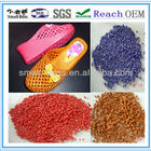 Crystal Compound For Shoes High Quality Pvc Granules Price High Quality Crystal PVC Compound Granules For Shoes Plastic Manufacturer Factory