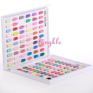 120 / 216 empty nail gel color display book