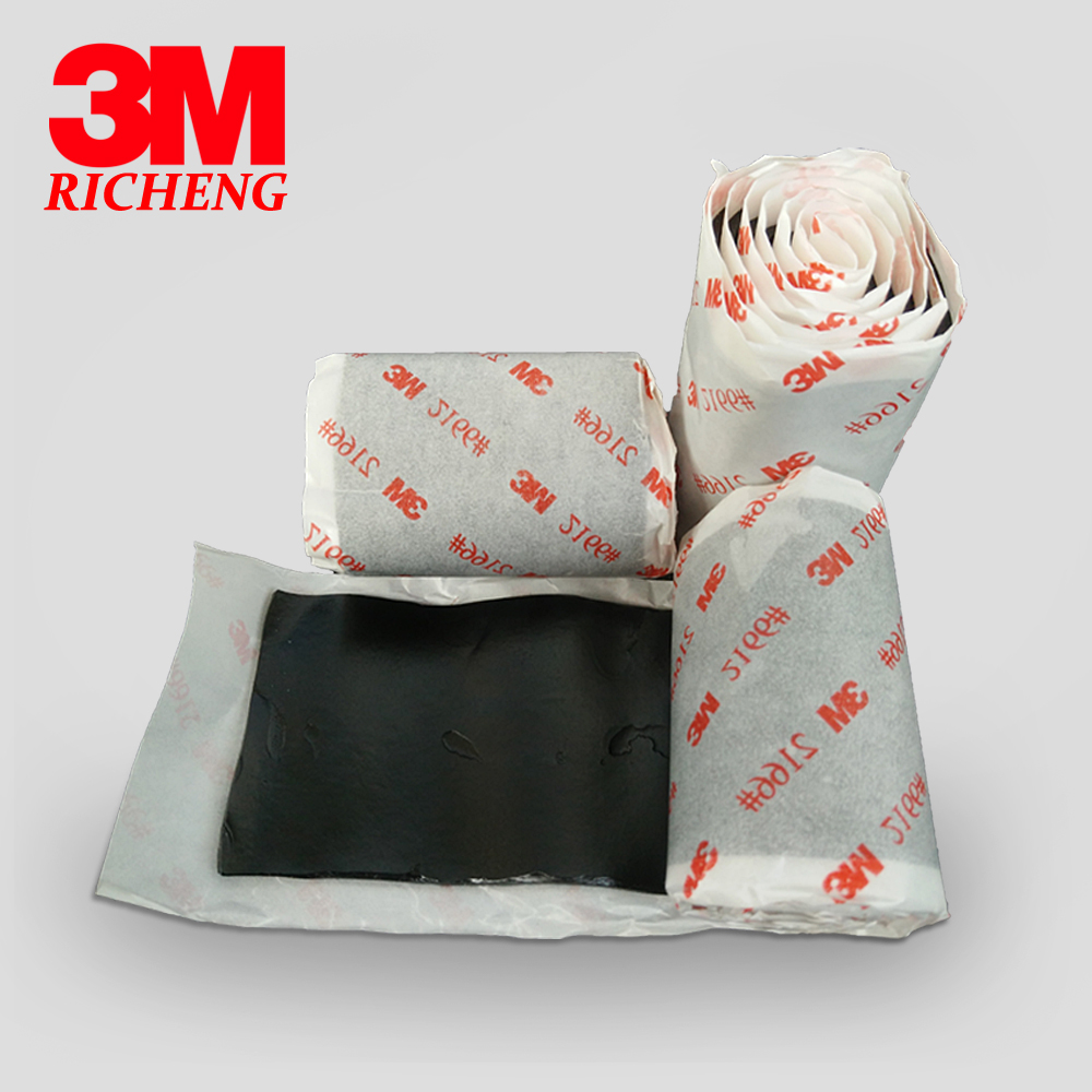 3M 2166 waterproof butyl rubber adhesive double sided insulation tape