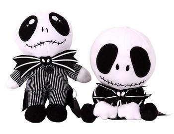 fashion hot selling nightmare before christmas toy baby jack skellington plush doll