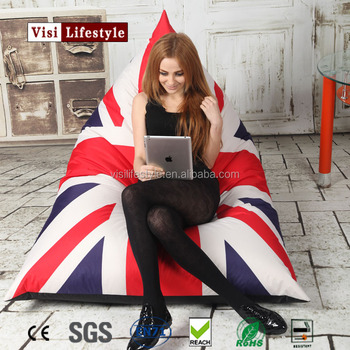 Triangle Union Jack Bean Bag Chair Printing Uk Flag From Factory