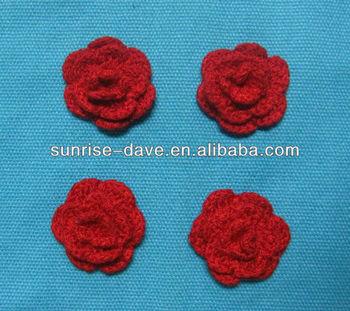 Kleine Blume Häkeln Applique Buy Kleine Blume Häkeln Applique