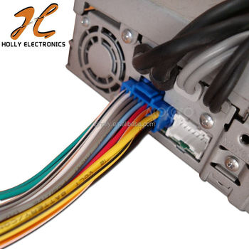 Adaptor embly Cable For Pioneer Avh-p6500dvd Wire Harness Blue Plug on