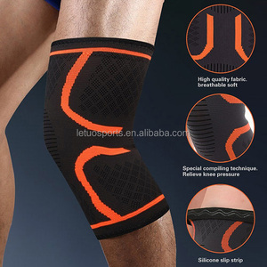 Alibaba online shopping compression weightlifting knee sleeve, knee support squat for powerlifting