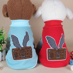 2018 Cute Pet Clothes Soft Lovable Wholesale Dog Clothes for Rabbits Cats