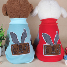 2018 Cute Pet Clothes Soft Lovable Wholsale Dog Clothes for Rabbits Cats