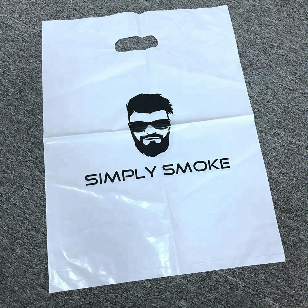 "200pcs Customized Plastic Merchandise Bags 40*30cm//16/""*12/"" Design Your Own  Logo"
